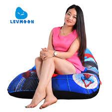 SUPER DISCOUNT <b>LEVMOON Beanbag Sofa</b> Chair Spider Man ...