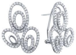 JV <b>Серьги с 198 бриллиантами</b> из белого золота F194DWC4W ...