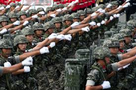 us department of defense photo essay  south korean soldiers march during a military parade to commemorate the th anniversary of the us