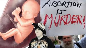 is abortion murder terminating pregnancy