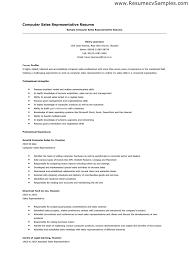 sale rep resume   sales   sales   lewesmrsample resume  computer sales representative resume format