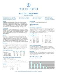 college and career counseling westminster christian academy school profile 2016 17
