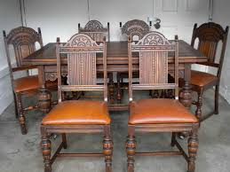 antique dining room chairs english oak table and with leather bottoms affordable living room furniture antique chair styles furniture e2