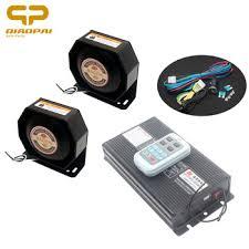 Auto Wireless Speaker 400W Alarm Sound Tone Vehicle 12V for ...