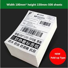 <b>express waybill Thermal</b> printer self adhesive <b>label</b> barcode qr code ...