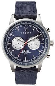 Наручные <b>часы TRIWA</b> Blue Steel Nevil — купить по выгодной ...
