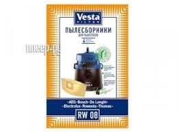 Купить <b>Мешки пылесборные Vesta Filter</b> RW 08 по низкой цене в ...