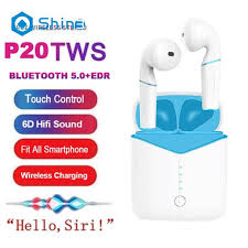<b>P20</b> TWS <b>Bluetooth 5.0</b> Wireless Earphone Super Bass <b>Headset</b> ...