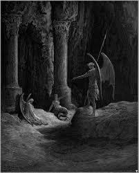 satan speaks sin and death paradise lost gustave dore satan speaks sin and death paradise lost gustave dore
