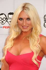 Brooke Hogan  - 2019 Dark blond hair & beachy hair style.