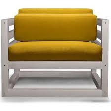 <b>Кресло Anderson Магнус бел</b> дуб-желтый вельвет | Кресло ...