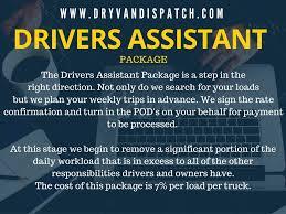 dry van dispatch service categories com 1