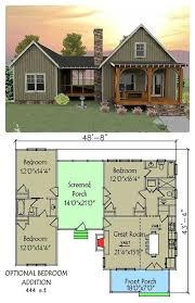 ideas about Small House Plans on Pinterest   House plans     tumbleweed  tinyhouses  tinyhome  tinyhouseplans This unique vacation house plan has a unique