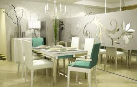 decorations white modern dining