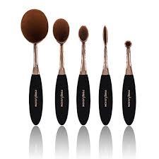 <b>Profusion</b> Cosmetics - Rose Gold <b>Deluxe Pro Brush</b> Vault, 6pcs ...