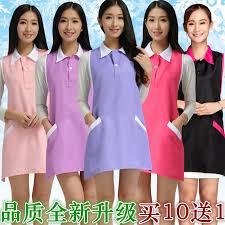 <b>Beauty salon beautician work clothes</b> apron nail waitress sleeveless ...