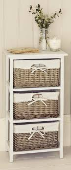 size bathroom wicker storage: natural wicker drawer unit from next
