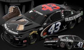 Bubba Wallace, NASCAR's <b>only black</b> driver, unveils new '<b>Black</b> ...