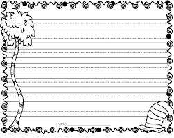 Free Printable Kindergarten Writing Paper