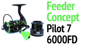 <b>Feeder Concept Pilot</b> 7 6000fd | Обзор и Разбор Фидерной ...