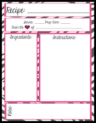 recipe templates to fill in cover letter template for resume recipe templates to fill in printable recipe card templates mesas place full page recipe