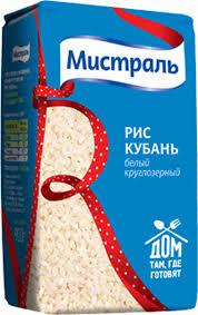 Крупа <b>рис Мистраль Кубань</b> 900г - купить с доставкой в интернет ...