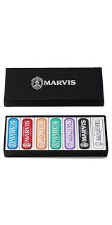 Buy <b>Marvis</b> 7 Flavors Toothpaste <b>Gift</b> Set <b>Black Box</b> from Canada at ...
