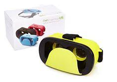 HXY <b>VR</b> 3D Glasses <b>Virtual Reality Mini Box</b> in Yellow for <b>Smart</b> ...