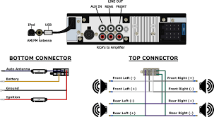 ford falcon radio usa classic car stereos wiring diagram for 1964 1965 ford falcon radio usa 630