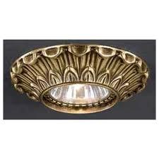 Встраиваемый <b>светильник Reccagni Angelo SPOT</b> 1077 bronzo ...