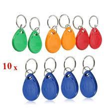 <b>em4305 125khz</b> copy <b>rewritable</b> em id keyfobs <b>rfid</b> tag key ring card ...