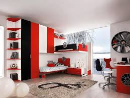 amazing black red and white sports themed bedroom bedroomamazing black white themed bedroom