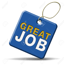 congratulations great job well done good work icon or button stock photo congratulations great job well done good work icon or button awesome and excellent accomplishment