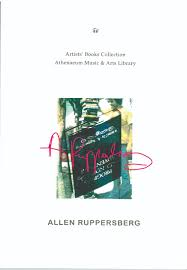 art history essays cornelia feye artist book catalogue allen ruppersberg