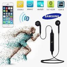 <b>Headset Bluetooth Sport S6 Wireless</b> v4.2 | SAMSUNG | MI | ASUS ...