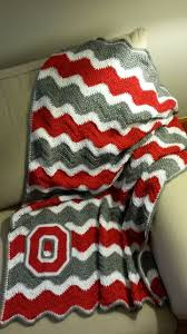 best ideas about ohio state game ohio state ohio state blanket crochet afghan osu buckeyes crochet afghan block o