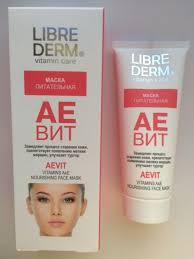 <b>Librederm AEVIT vitamins</b> A&E nourishing face Mask 75 ml for sale ...