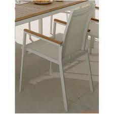Tavolo In Teak Manutenzione : Timber talenti tavolo con poltrone alluminio e teak