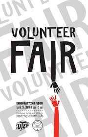 volunteer fair like a job fair but for volunteer opportunities volunteer fair like a job fair but for volunteer opportunities i like this poster