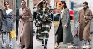 С чем носить <b>пальто</b> в <b>клетку</b>: 25 модных образов 2019-202 ...