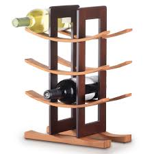 home 12 bottle tabletop wine rack arched table top wine cellar furniture