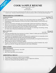 sample chef resume  sample chef resume objective  sample resume    line cook resume examples samples