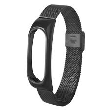For Xiaomi Mi Band 2 Mesh <b>Stainless Steel Bracelet Wristband</b> ...