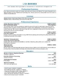 registered nurses resume examples in hambleton  wv   livecareerlisa b   registered nurses resume   hambleton  west virginia
