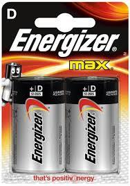 Купить <b>батарейку Energizer Max D-LR20</b>, 2 шт. по выгодной цене ...