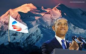 Image result for obama renames mt mckinley pics