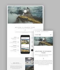 best wordpress portfolio themes for creatives ronneby wp creative folio theme