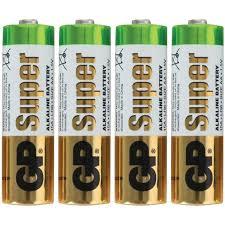 Купить <b>Батарейки GP Super</b> AA (LR06) 15A алкалиновые, SB4 ...