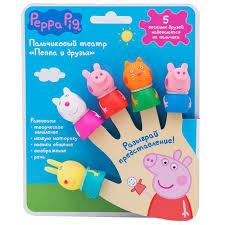 Купить <b>игровой</b> набор Пальчиковый театр (<b>Свинка Пеппа</b>) Peppa ...