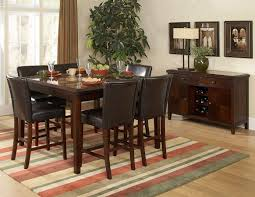 Tall Dining Room Sets Plastic Tall Dining Table Brown Rustic Counter Height Dining Table